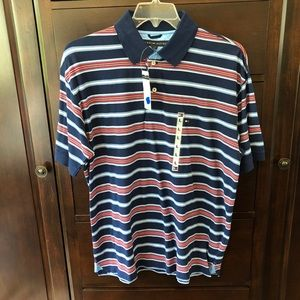 Tommy Hilfiger: Men's Striped Polo (NWT)